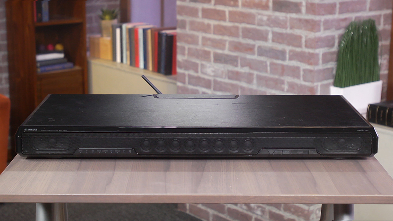 Video: Yamaha SRT-1500 soundbase offers HDMI and wireless multiroom