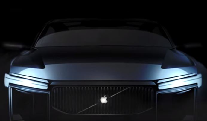 <p>Could this be Apple's first car?</p>
