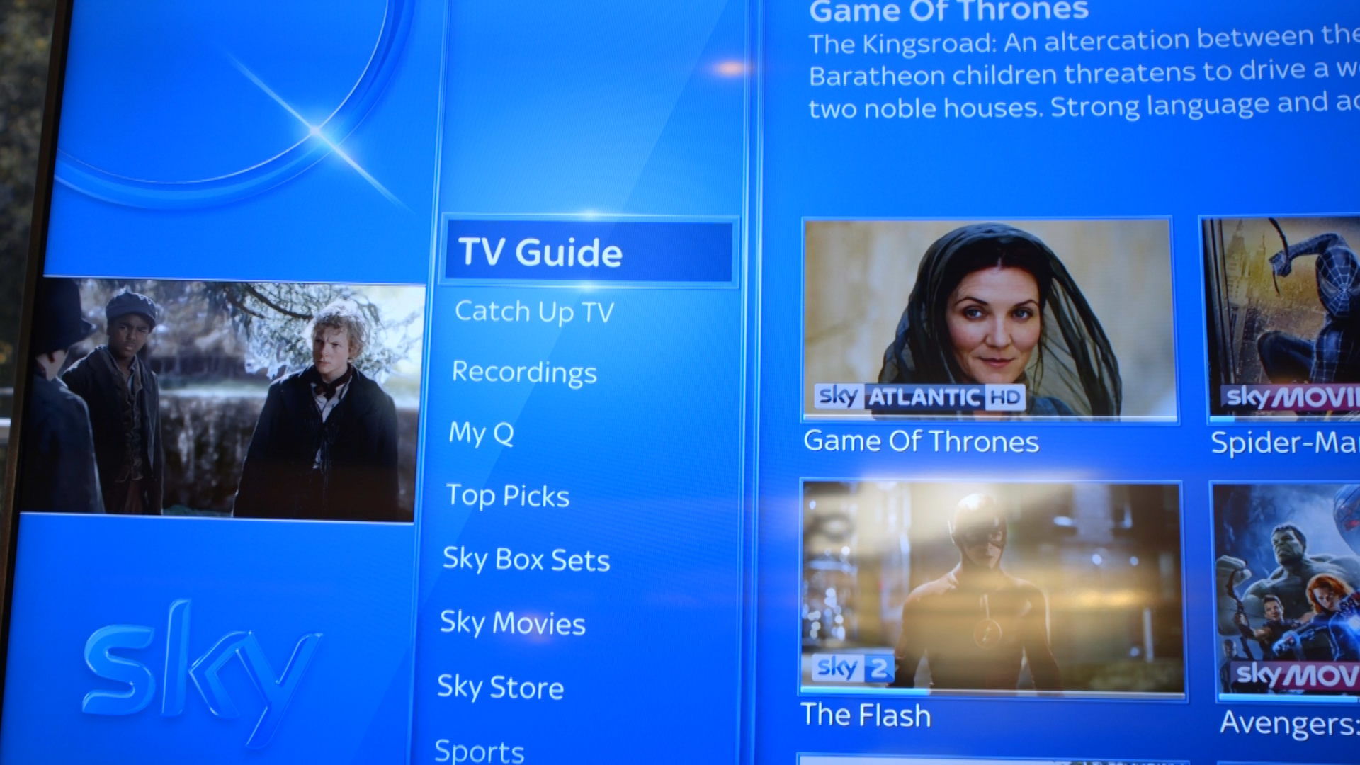 Video: Take a tour of Sky Q's new interface and features