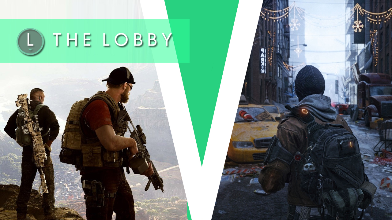 Video: GameSpot's The Lobby: The Division vs. Ghost Recon Wildlands