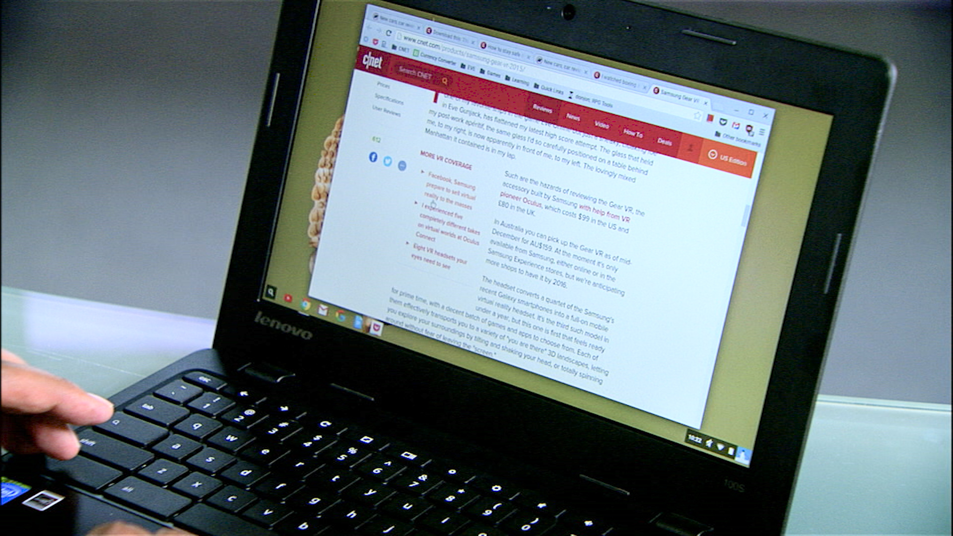 Video: Lenovo's 100S Chromebook keeps things cheap and simple