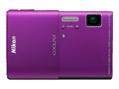 Nikon Coolpix S100 (Purple)