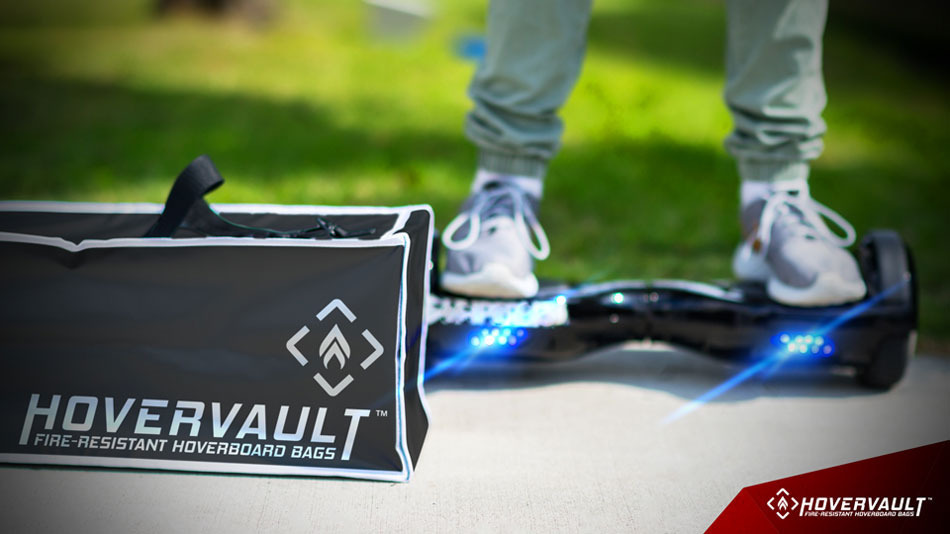 <p>The Hovervault is sized to hold a regular hoverboard.</p>