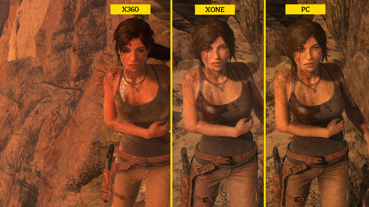 Video: Rise of the Tomb Raider: Graphics comparison