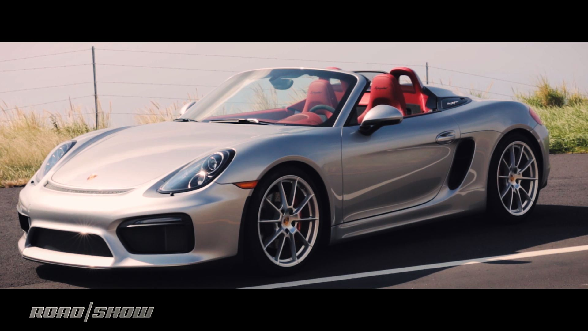 Video: 2016 Porsche Boxster Spyder is one hell of an arachnid