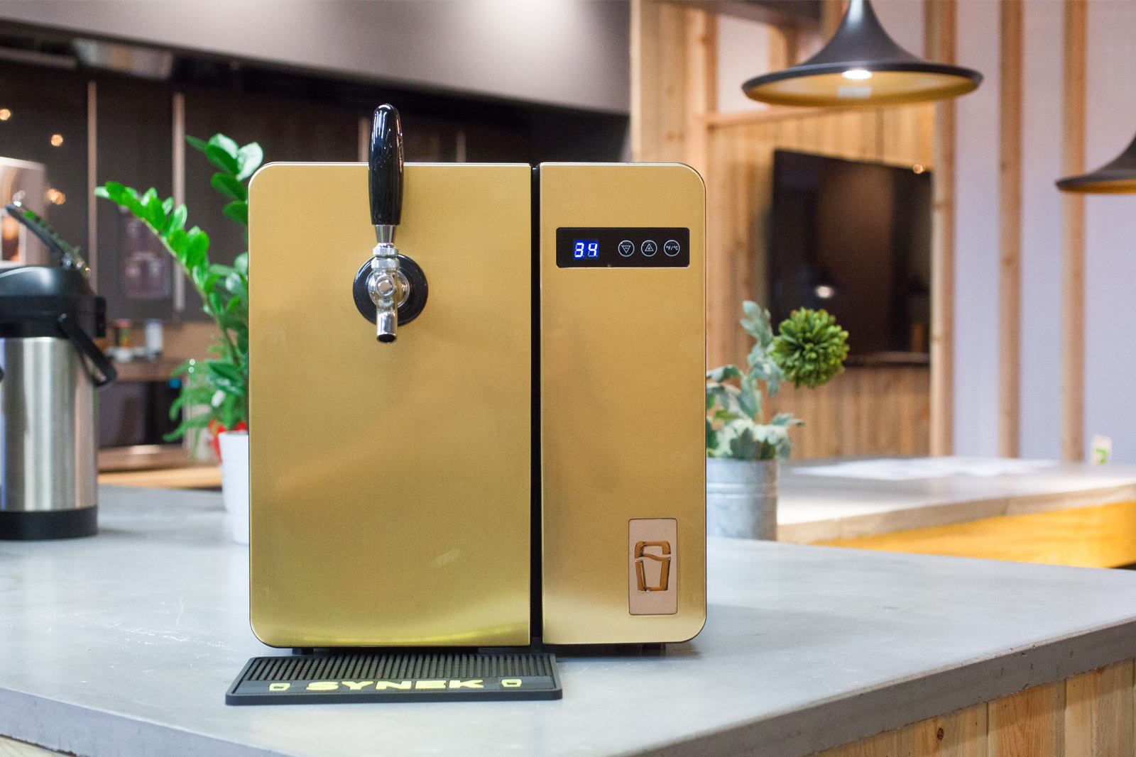 Synek Counter Top Beer Dispenser Release Date, Price and Specs - CNET