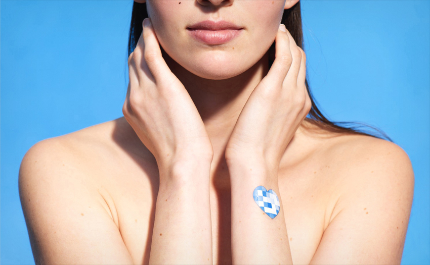 <p>L'Oréal's My UV patch measures sun exposure, but looks like a temporary tattoo.</p>