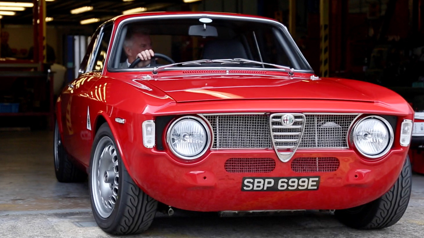 Video: The Alfa Romeo Giulia Sprint is automotive aristocracy