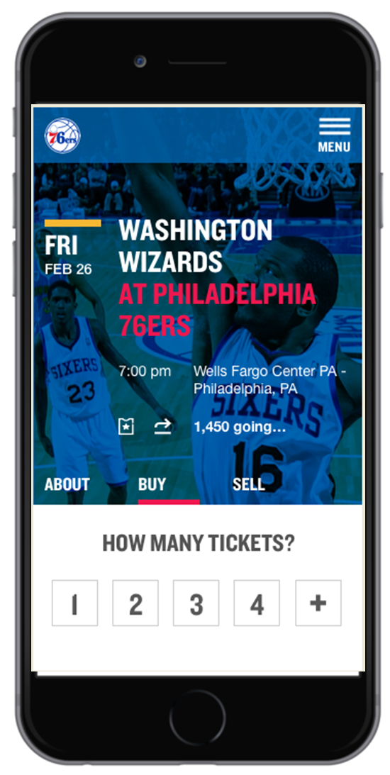 <p>The StubHub-76ers partnership kicks off in October, in time for the new NBA season.</p>