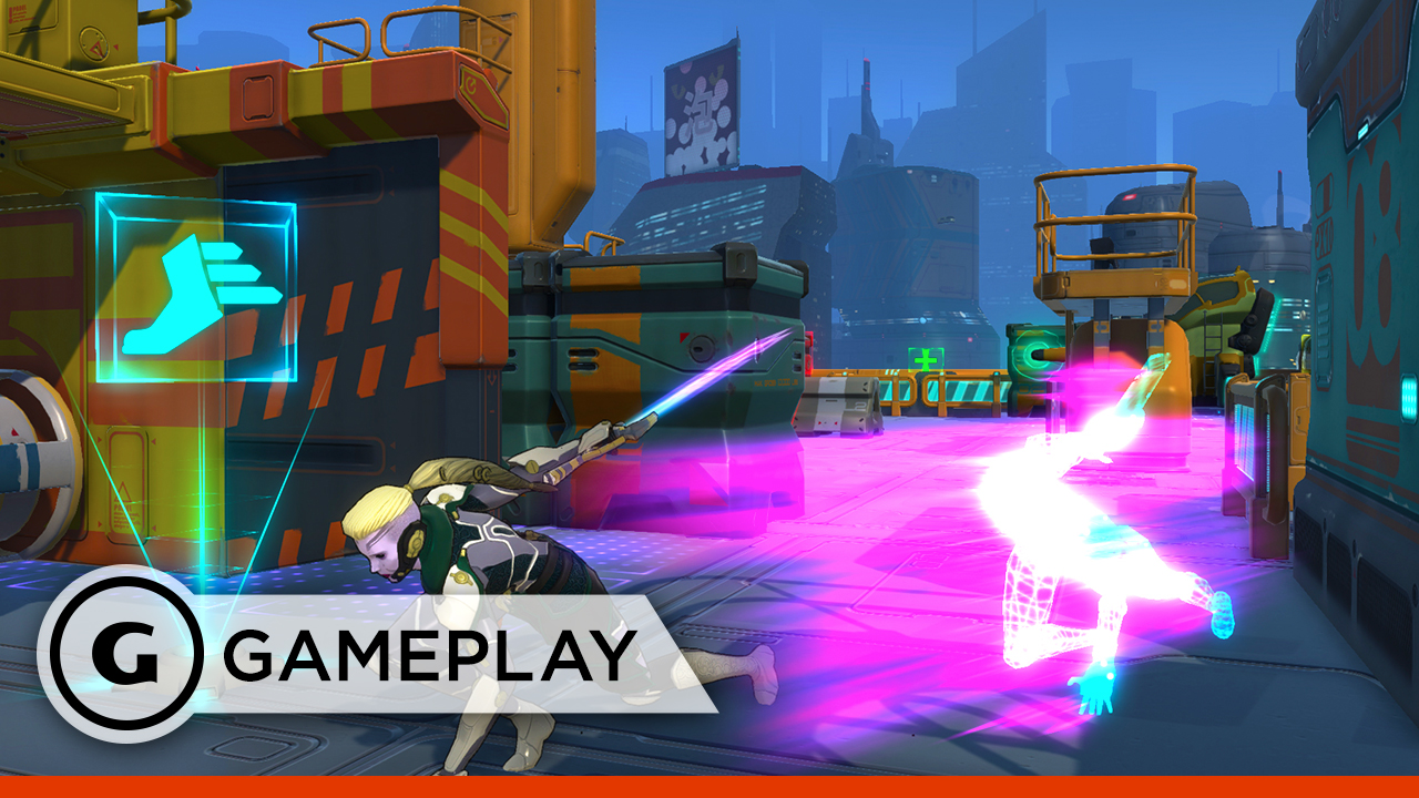 Video: Atlas Reactor's turn-based combat gameplay