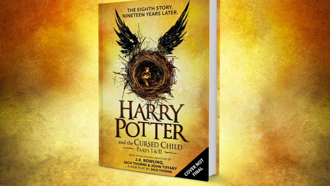 "<p>The unofficial cover for ""Harry Potter and the Cursed Child,"" the official eighth book in the ""Harry Potter"" series that's set to be released in July.</p>"