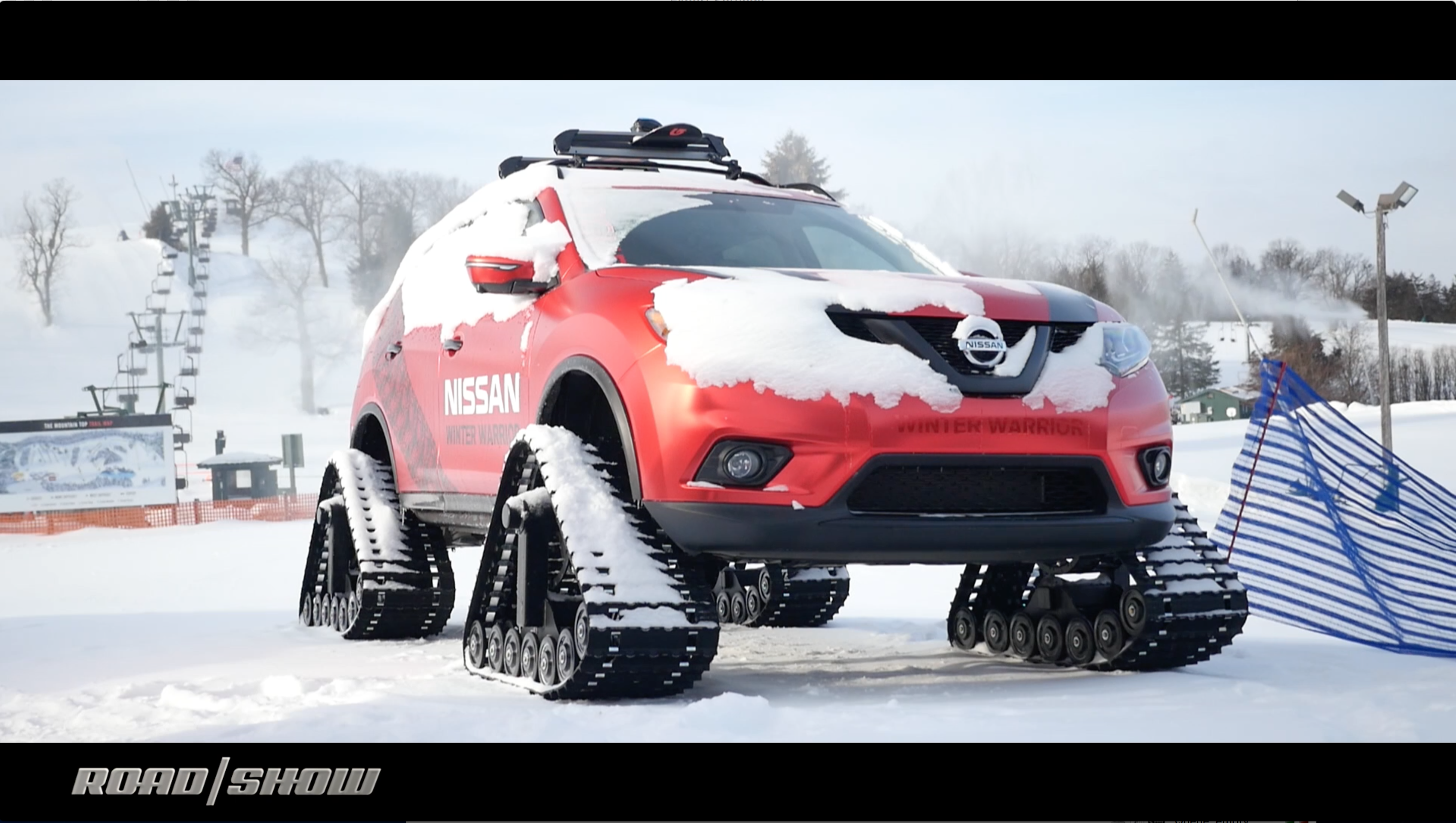 Video: We pummel the powder in Nissan's Winter Warrior concepts