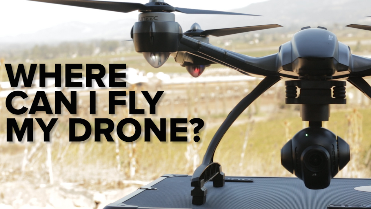 Video: Drones 101: Where can I fly my drone?