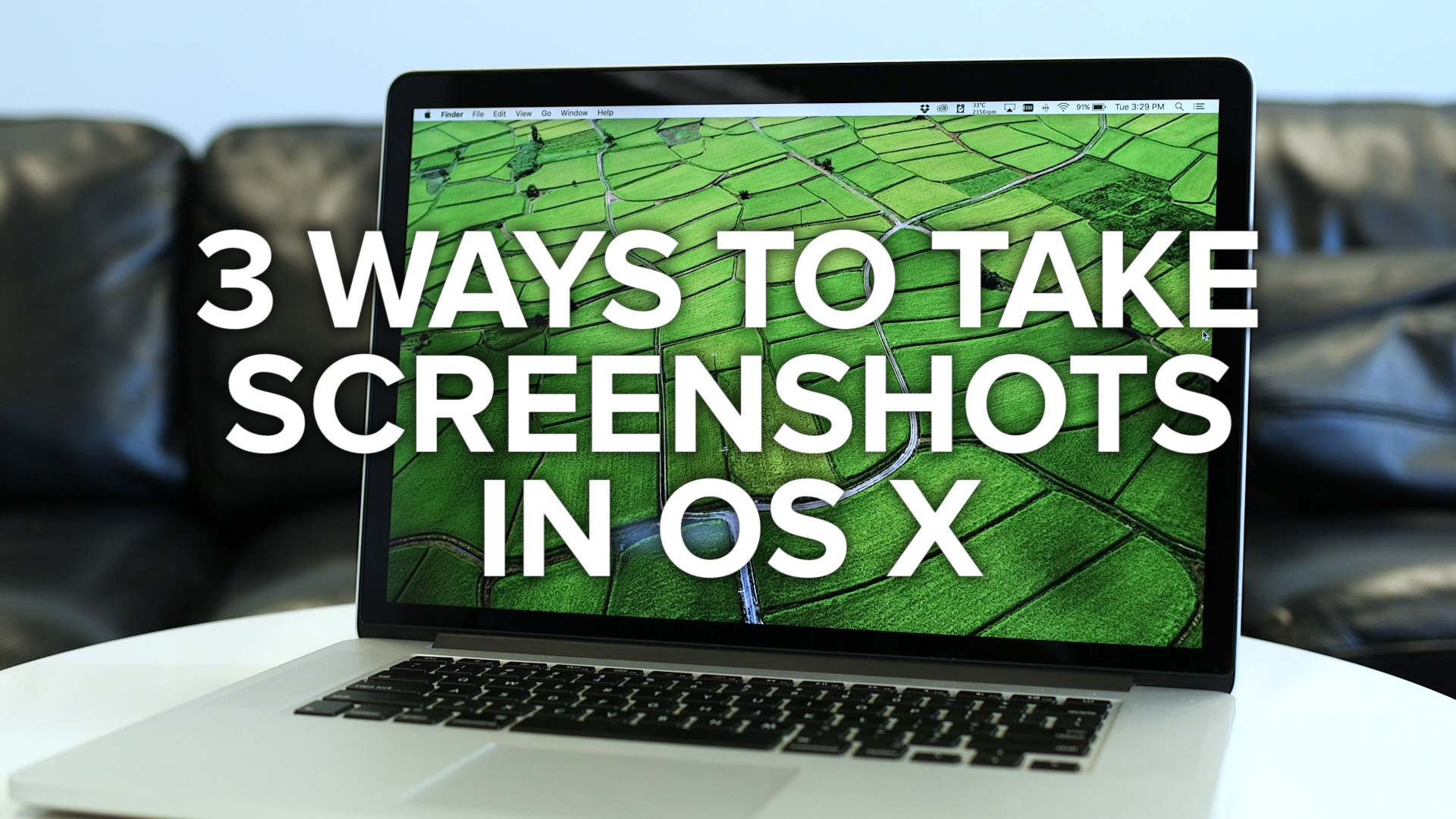 Video: Three ways to take screenshots on your Mac