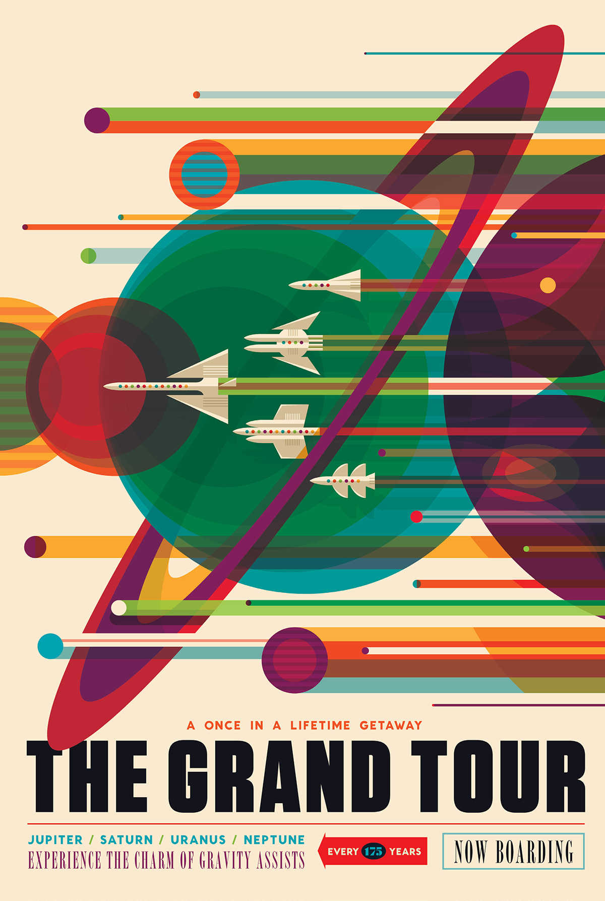 Stylish NASA Posters Imagine The Future Of Space Tourism