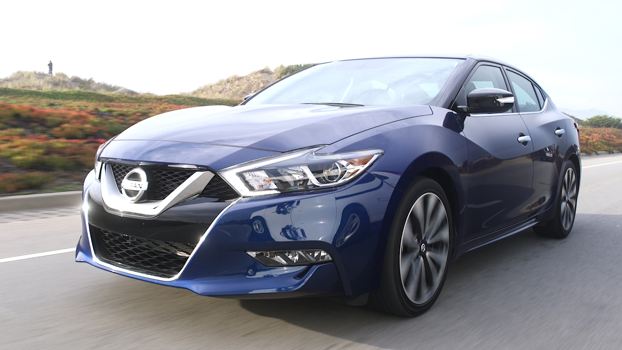 Video: 2016 Nissan Maxima, the 4-door sports car -- with a straight face? (CNET On Cars, Episode 83)