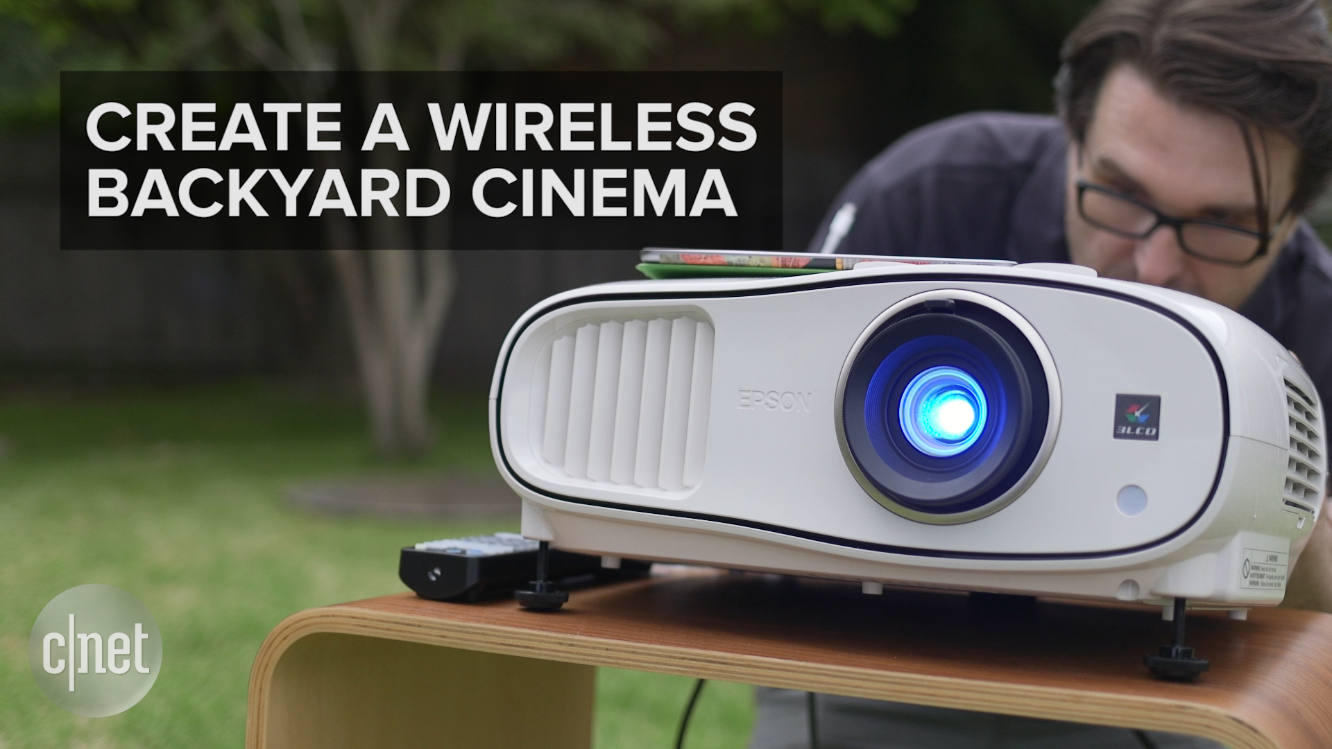 Video: Set up your own wireless backyard cinema