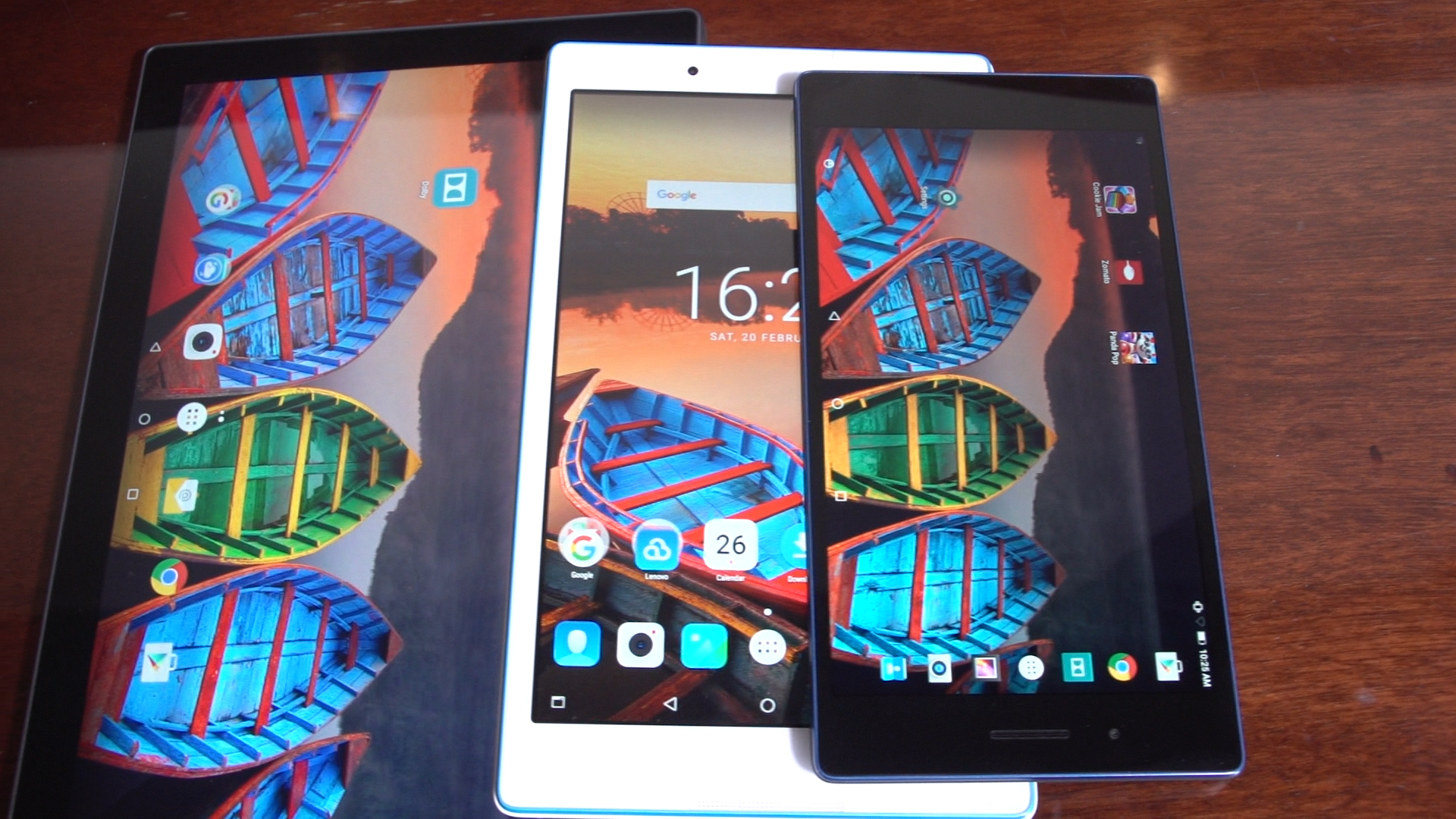 Video: Lenovo launches trio of super cheap Android Marshmallow tablets