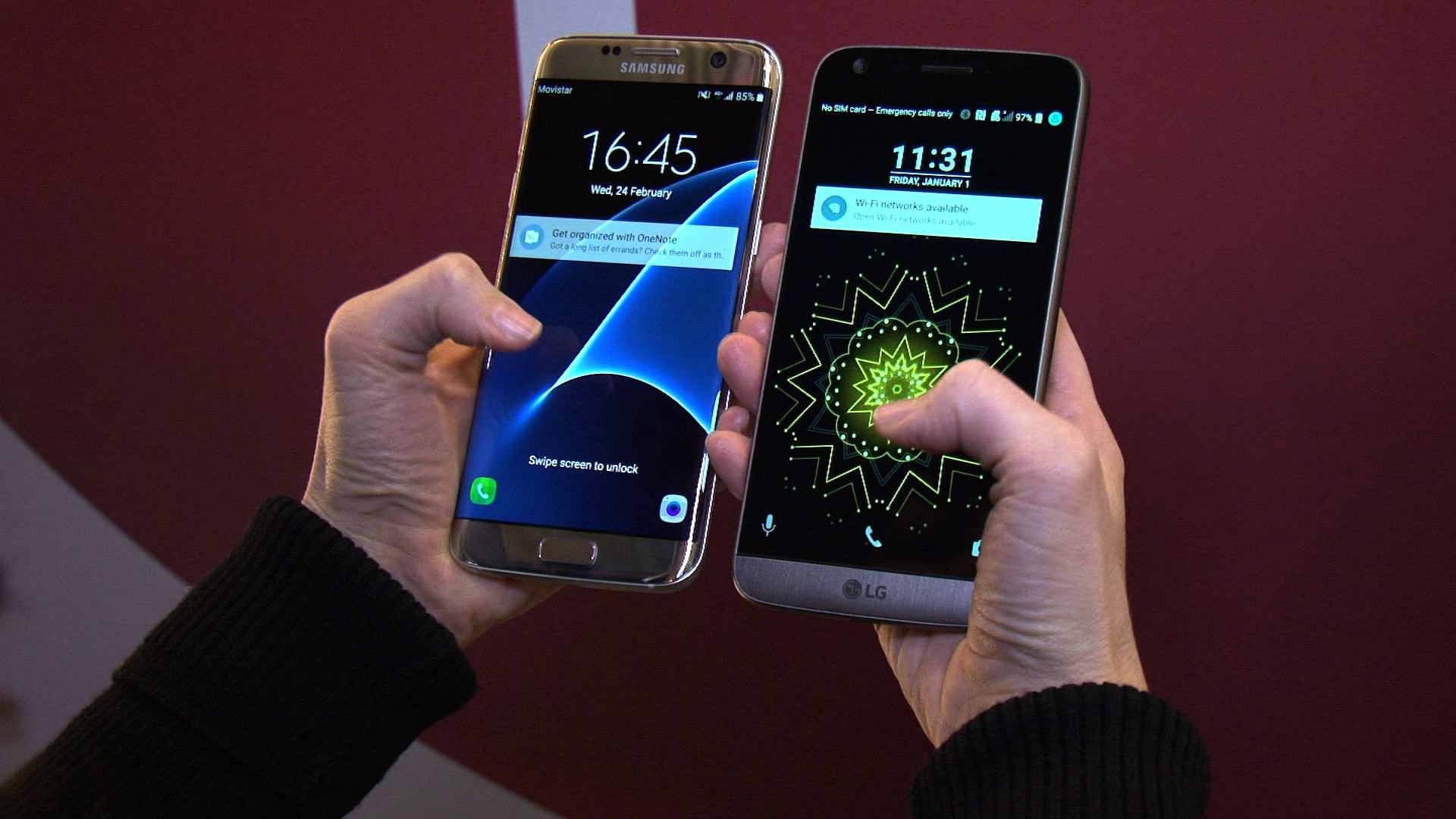 Video: Samsung Galaxy S7 vs. LG G5