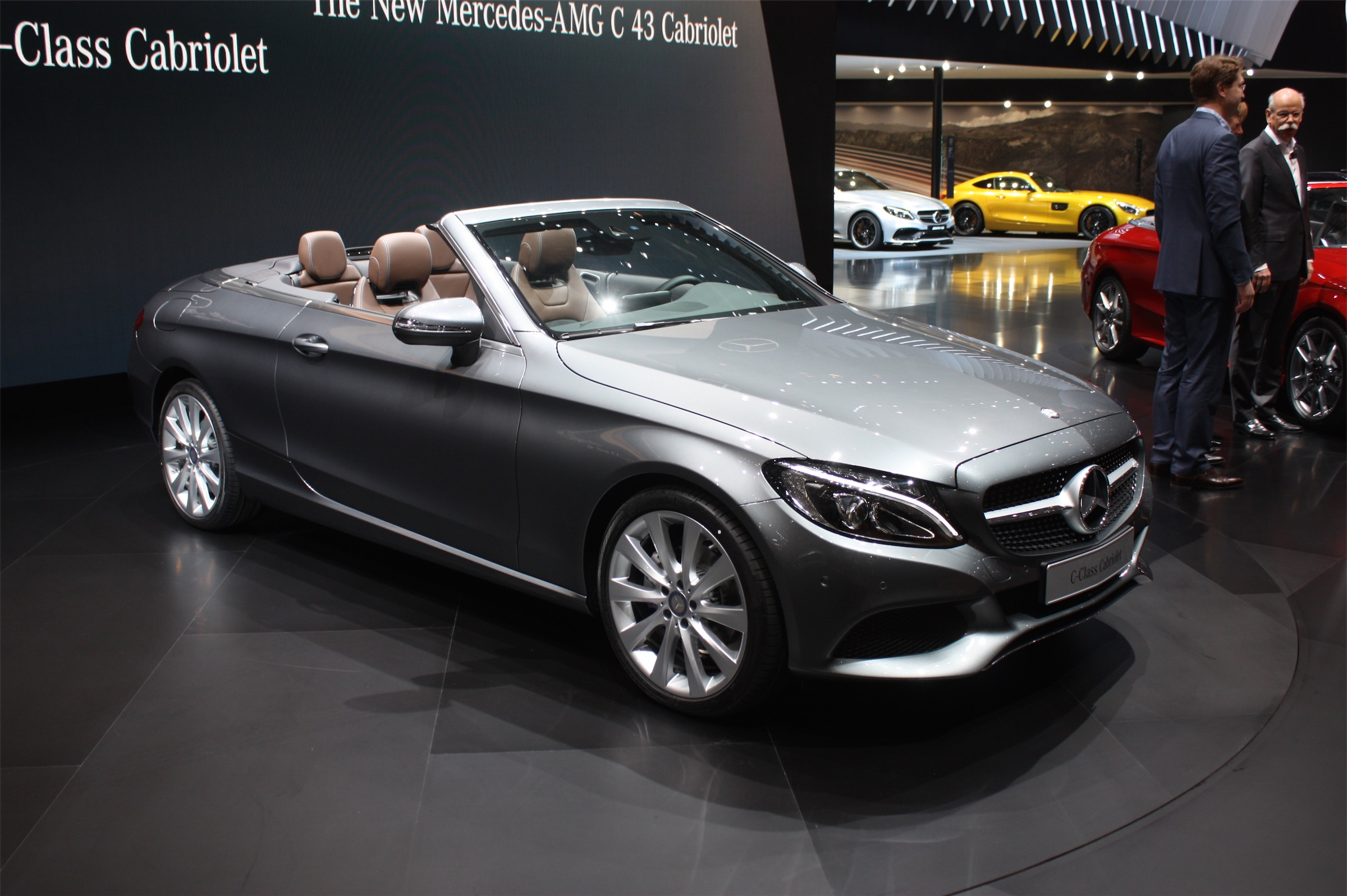 2017 mercedes benz c class convertible release date price and specs roadshow. Black Bedroom Furniture Sets. Home Design Ideas