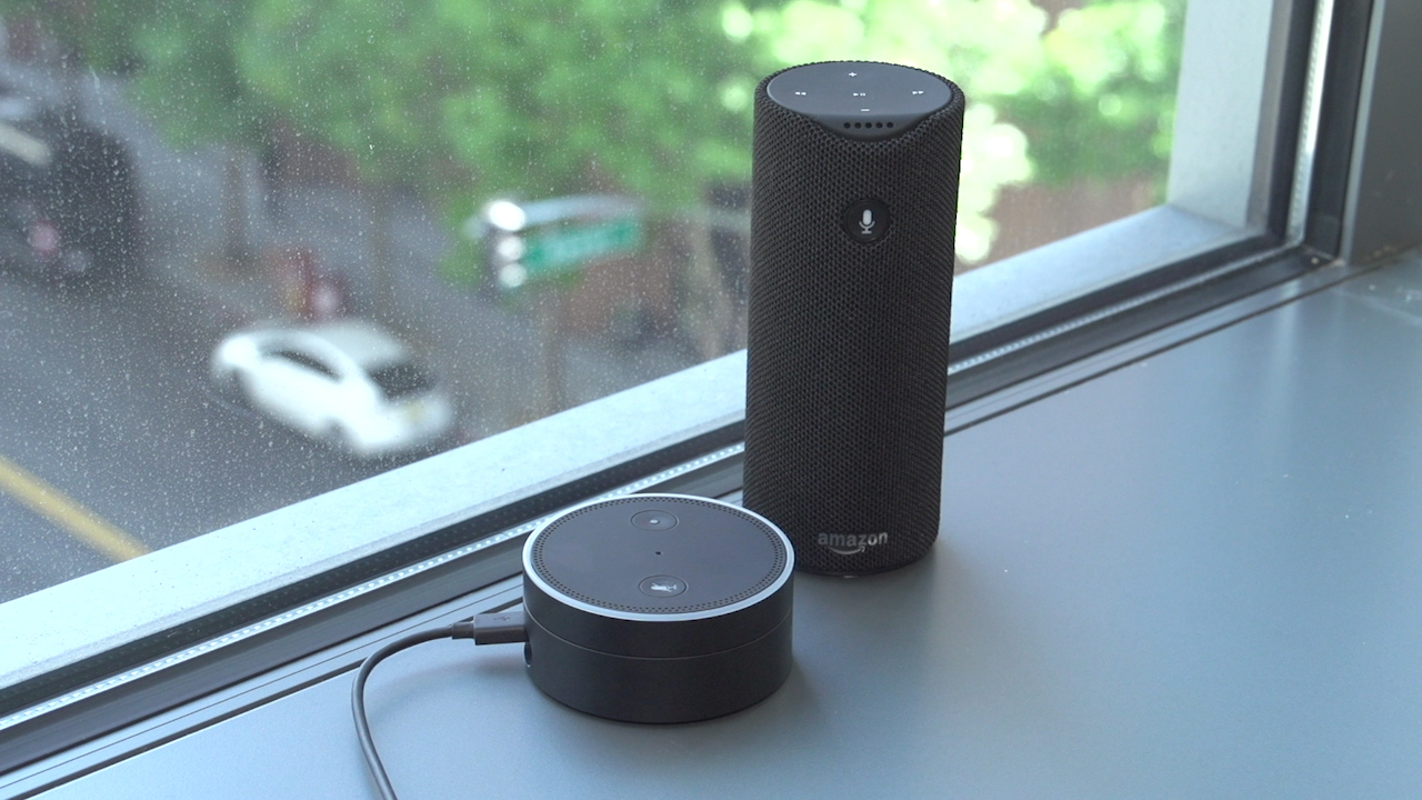 Video: Two new Echo devices for Amazon's Alexa