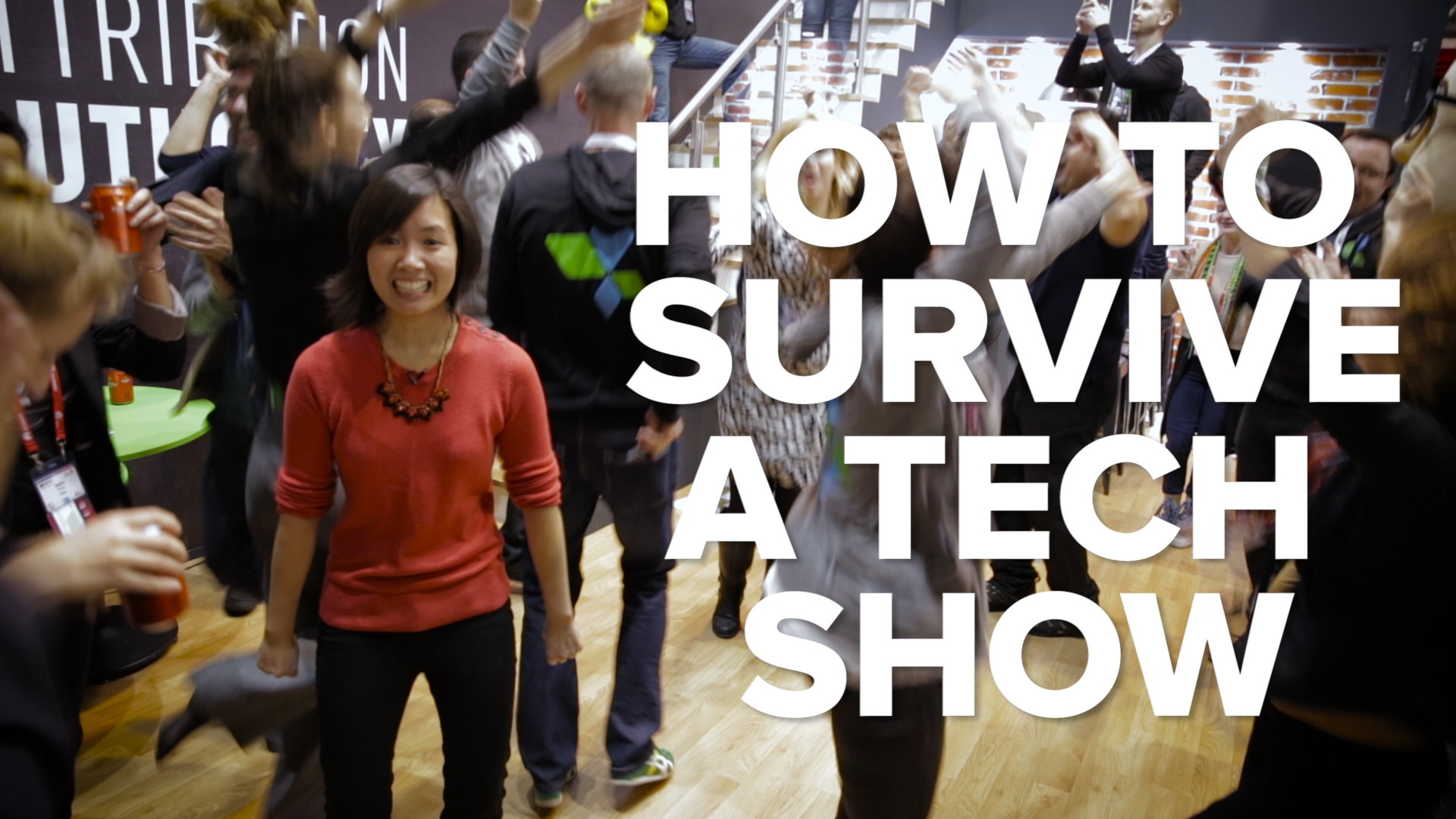Video: How to survive a tech show