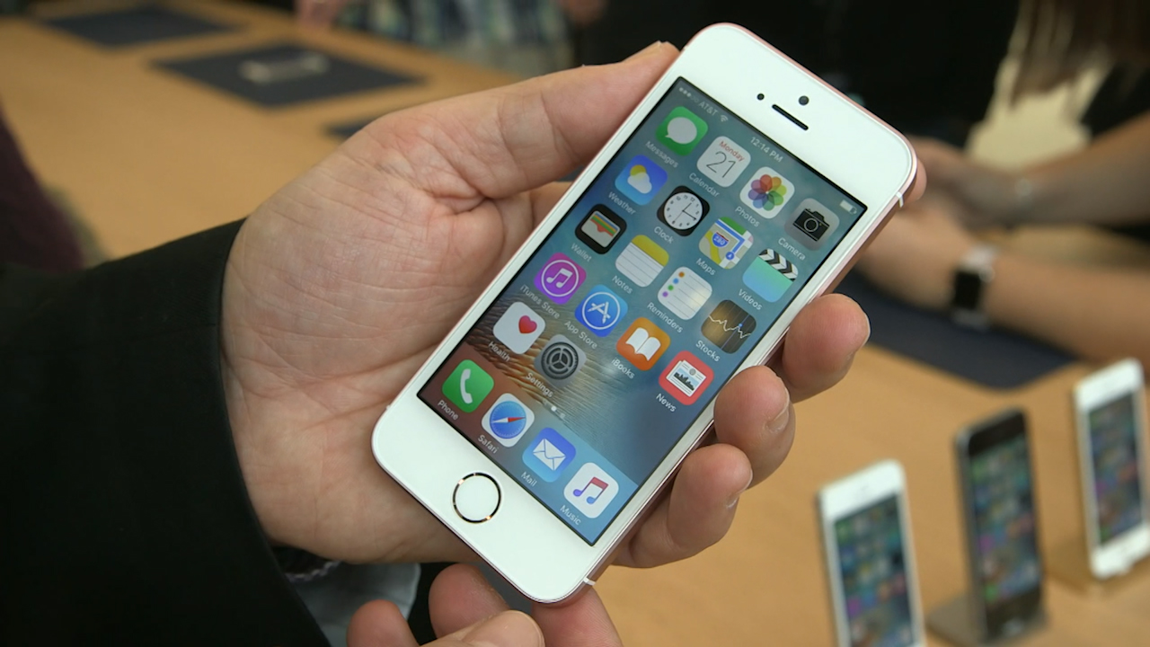 Video: Tinier, cheaper, iPhone SE arrives