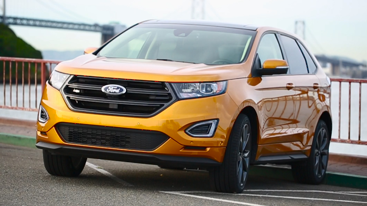 Video: 2016 Ford Edge Sport: Steering like you've never seen (CNET On Cars, Episode 86)
