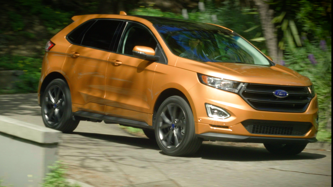Video: On the road: 2016 Ford Edge Sport