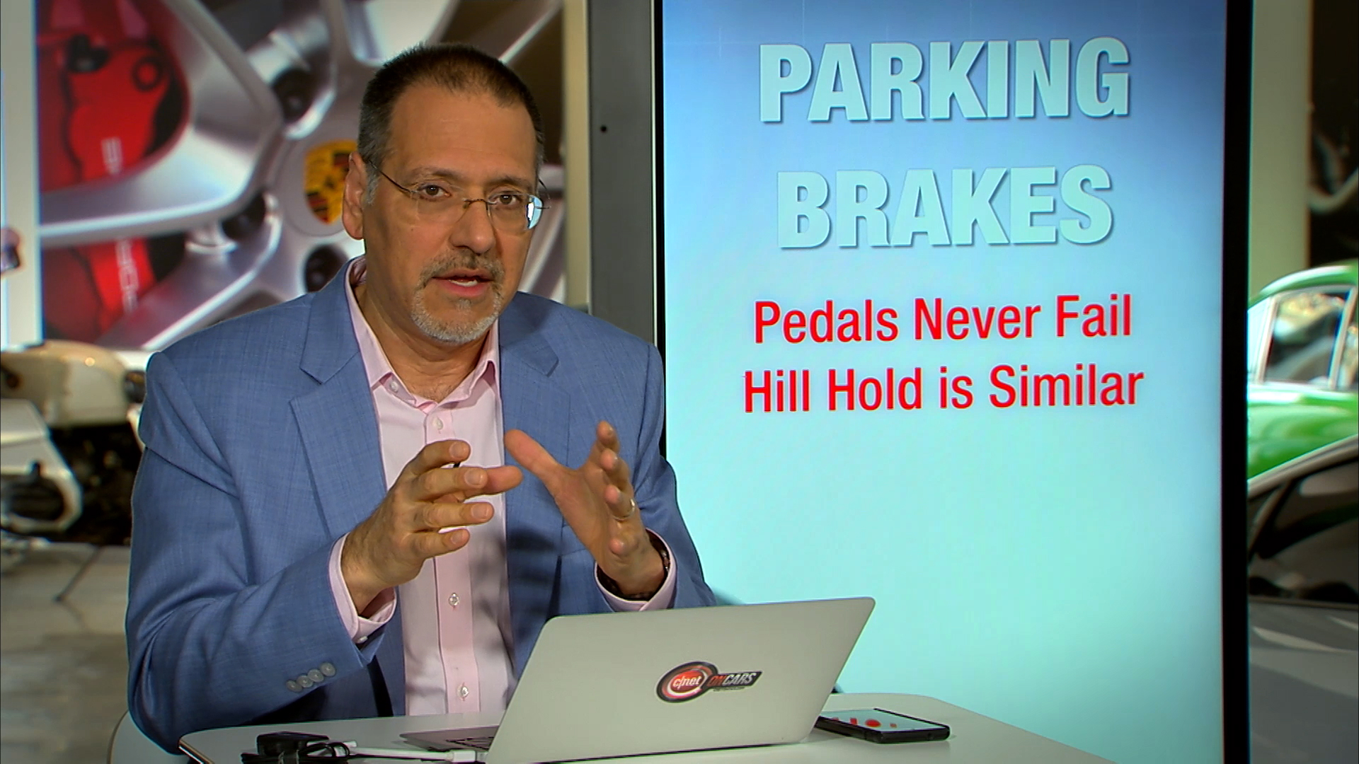 Video: Your emails: Foot-actuated vs. electronic parking brakes
