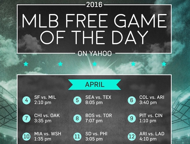 How to watch baseball on Yahoo (for free)