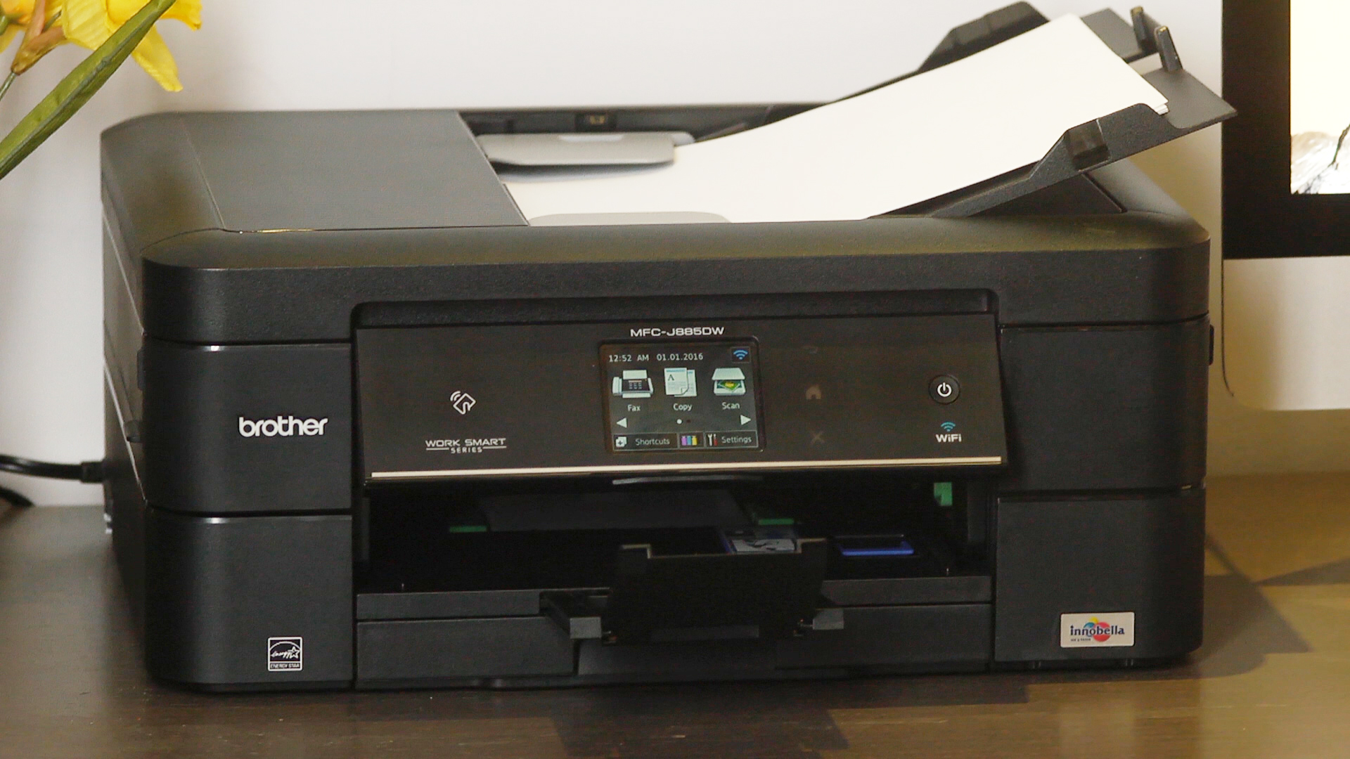 Video: Stymied by slow print speeds, this Brother printer can't keep up with the competition