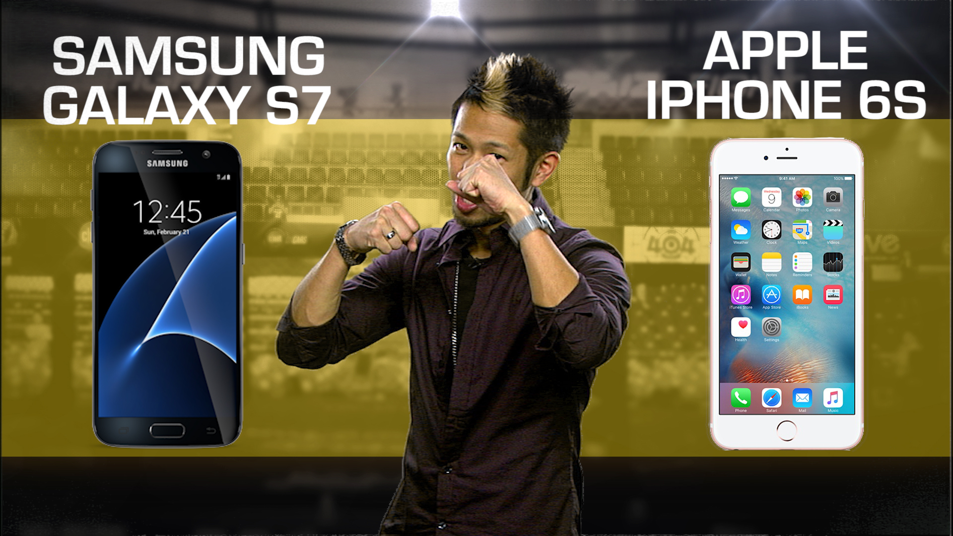 Video: Samsung Galaxy S7 vs. Apple iPhone 6S