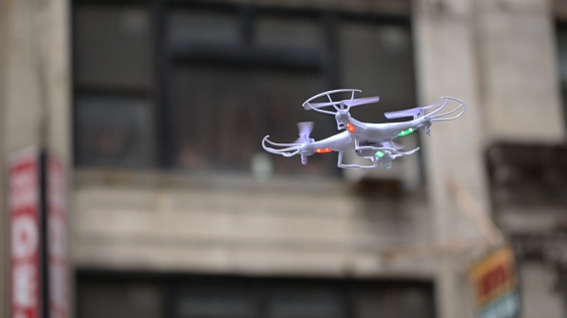 Video: Toy drones are a cheap ticket to get in the sky