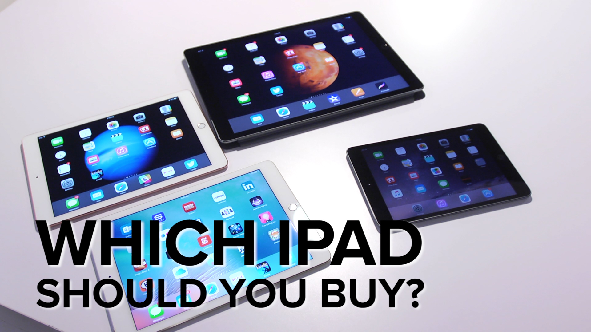How to choose your next iPad