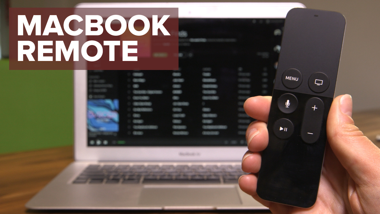 Video: Control a MacBook with an Apple TV remote
