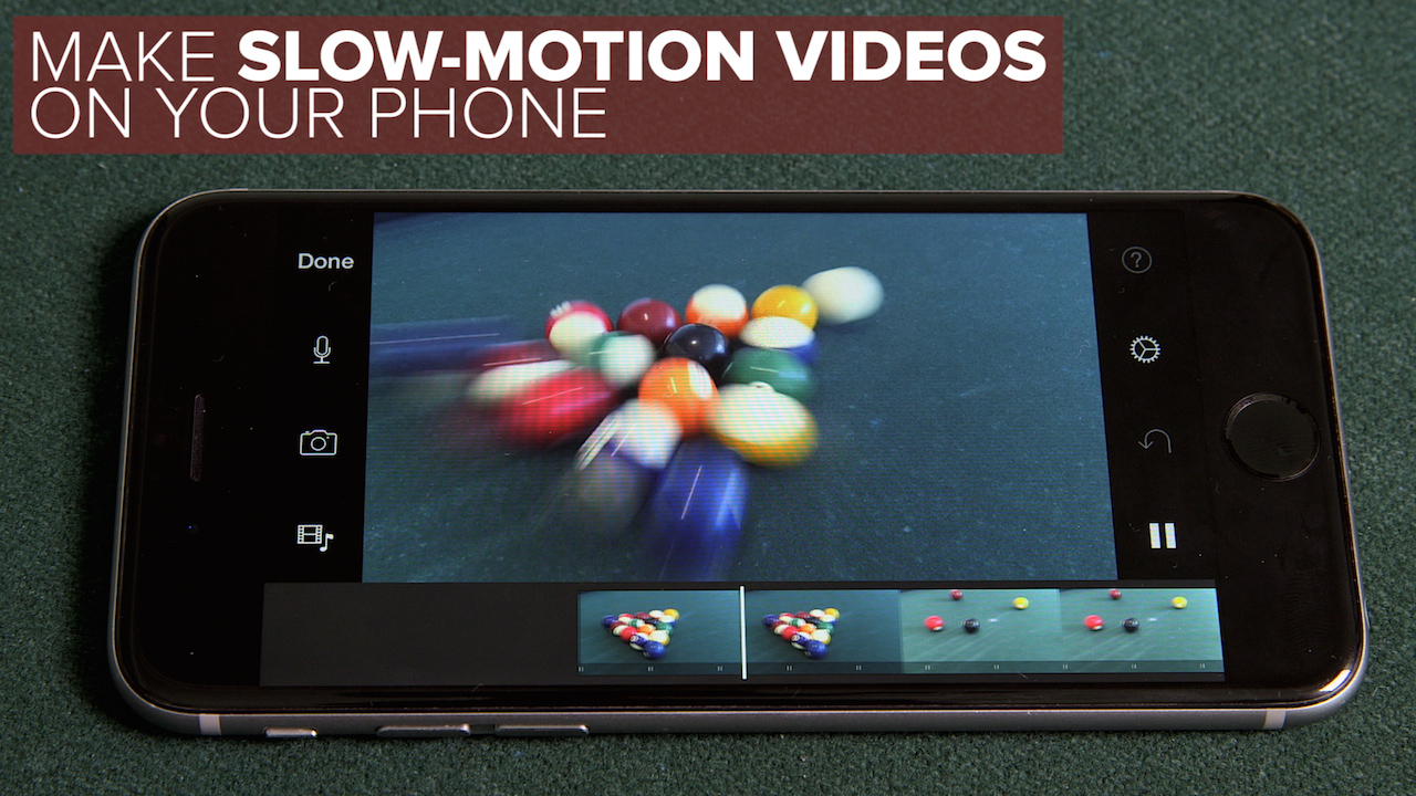 Video: Make slow-motion videos on a phone