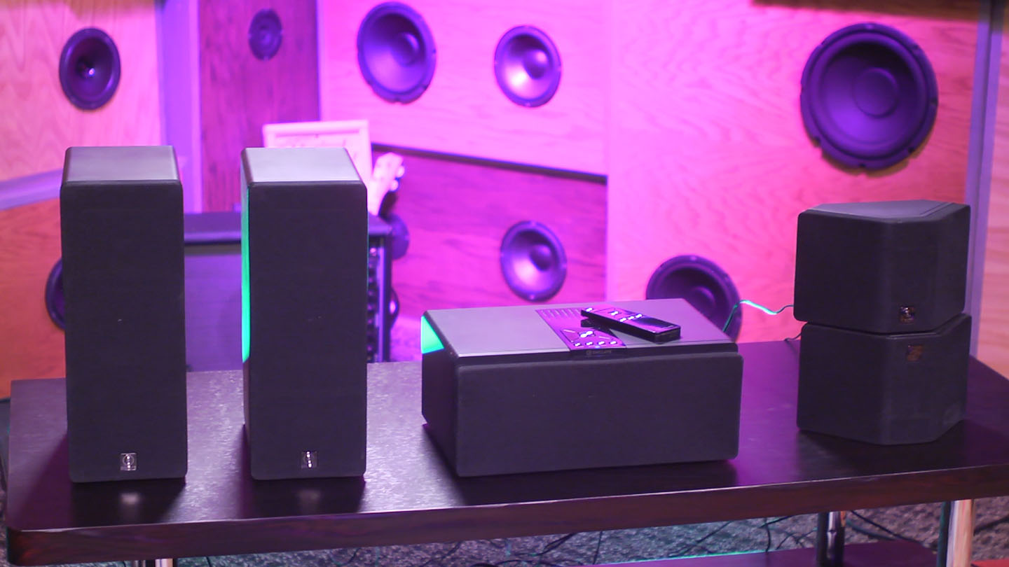 Video: Enclave Audio 5.1 speakers sound decent, not truly wireless