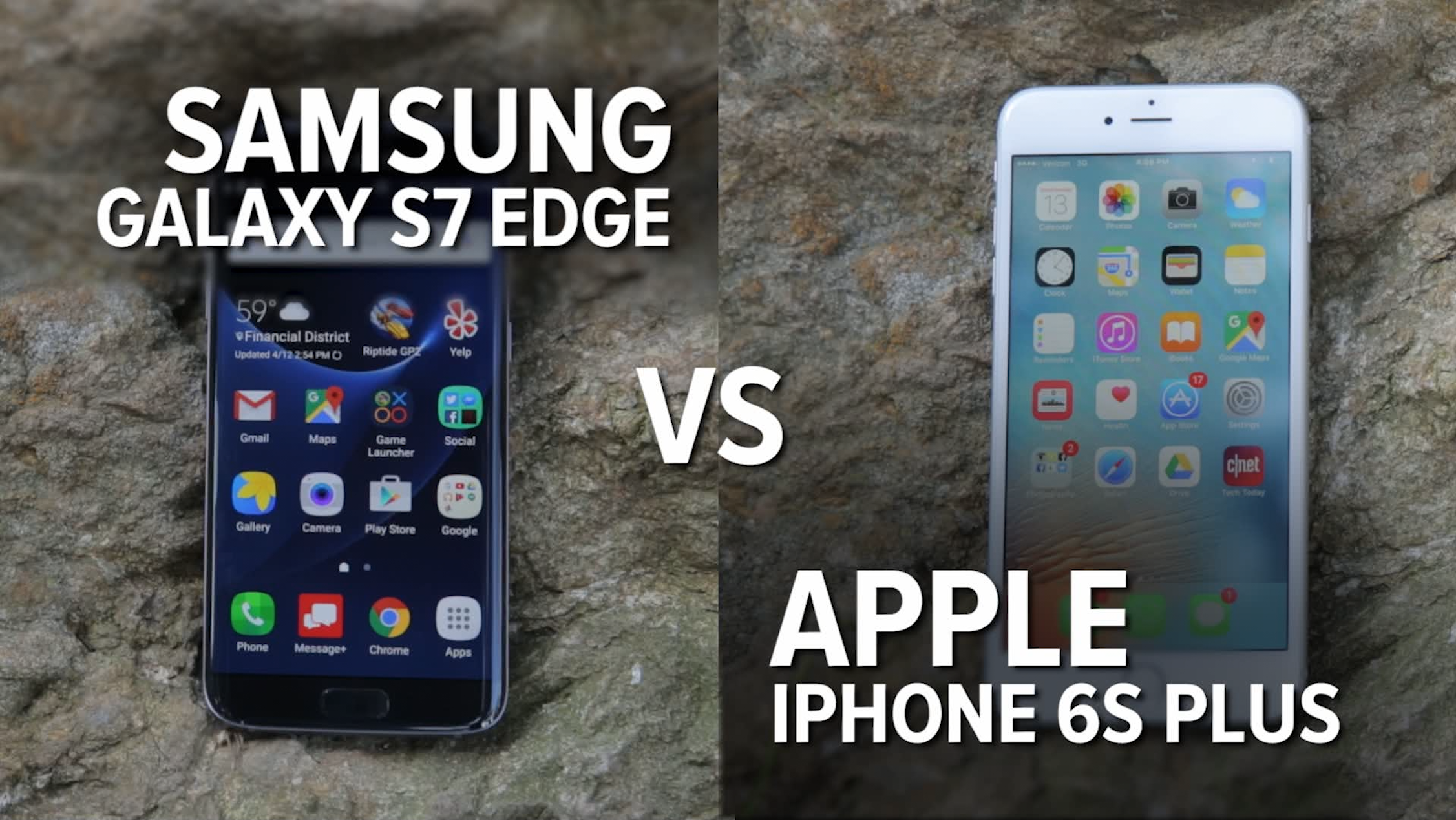 Video: Camera comparison: The Galaxy S7 Edge vs. the iPhone 6S Plus
