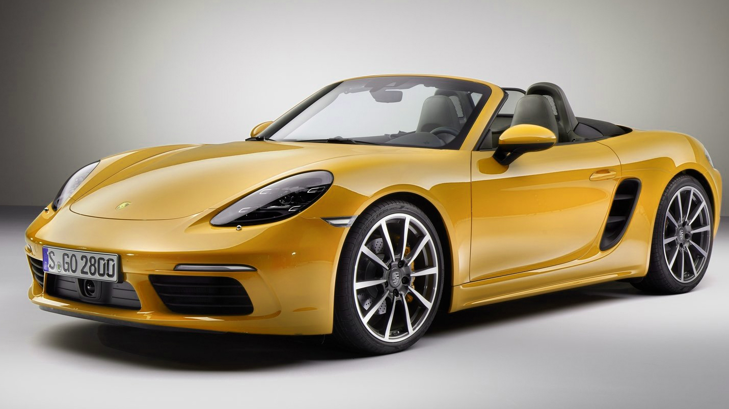 Porsche 718 Boxster has lost cylinders but gained horses