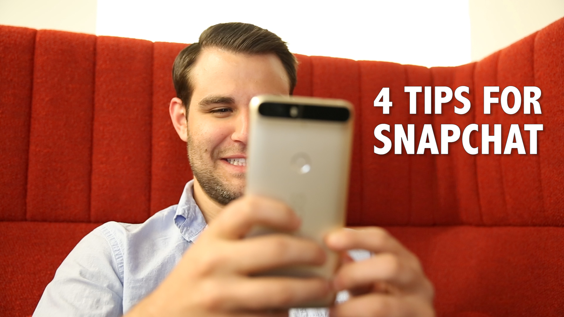 Video: Four tips to make you a Snapchat power user