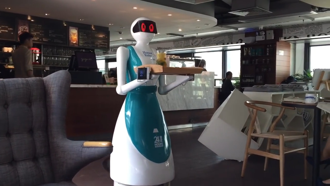 Video: Robot waiters got fired for doing a terrible job (Tomorrow Daily 353)