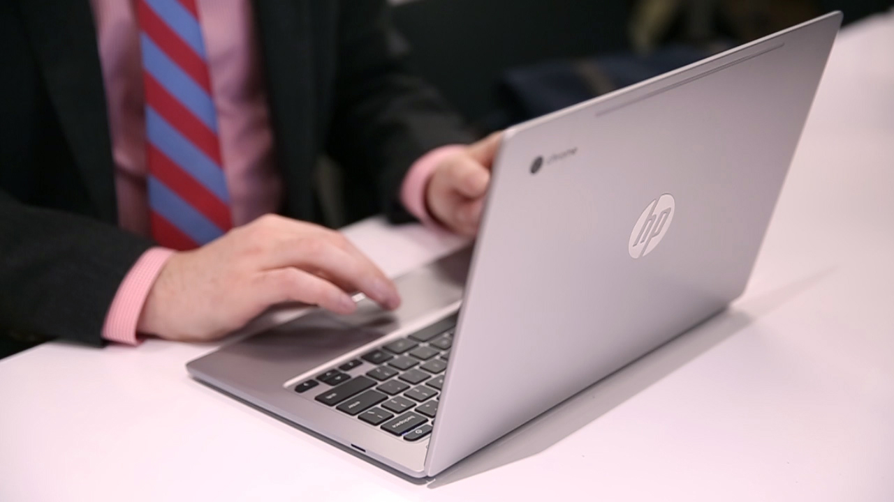 Video: An upscale new Chromebook from HP