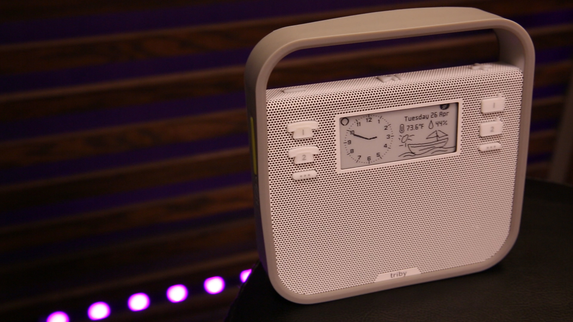 Video: The fridge-friendly Triby smart speaker adds Alexa