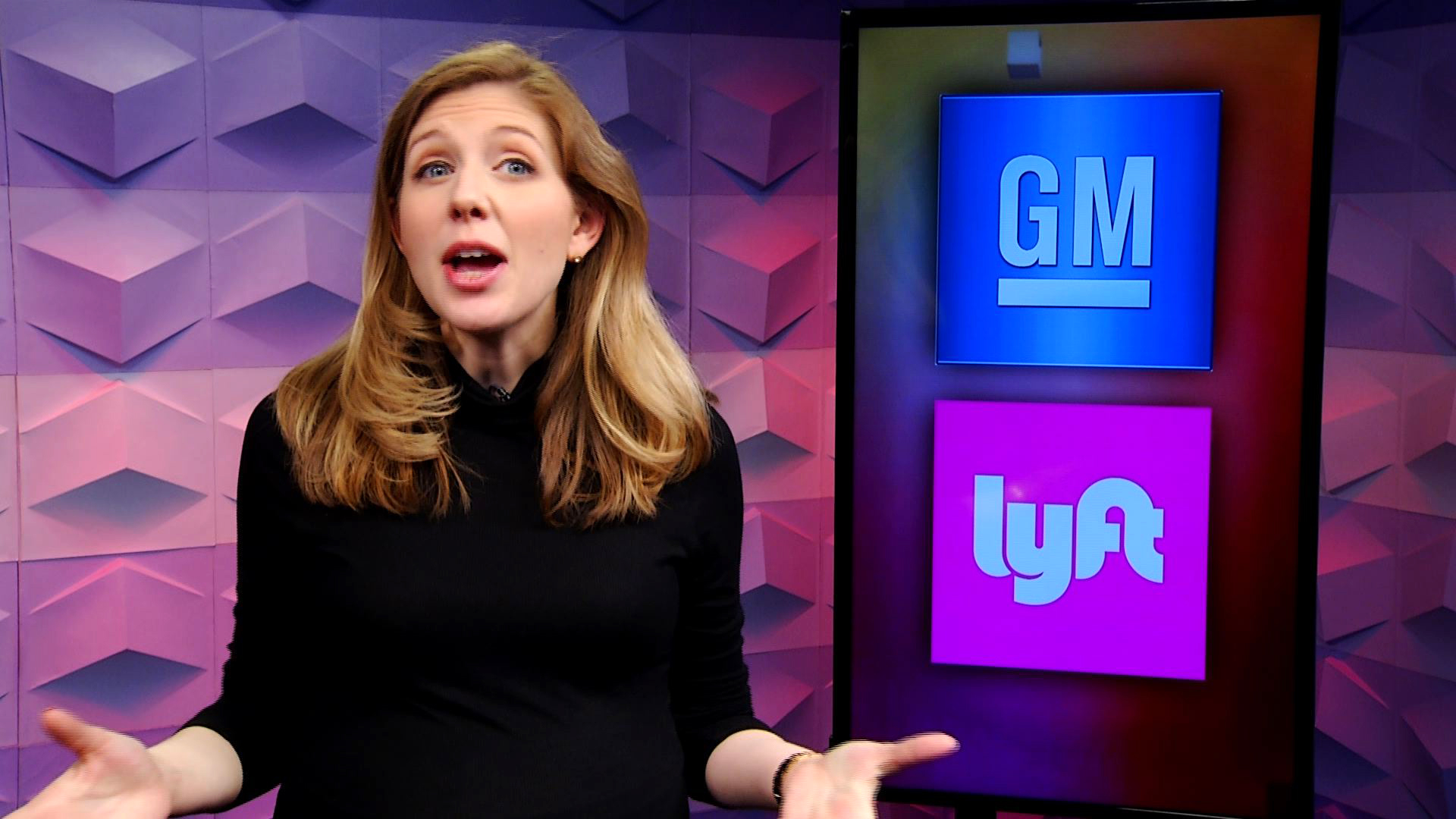 Video: GM, Lyft will let you test self-driving taxis soon