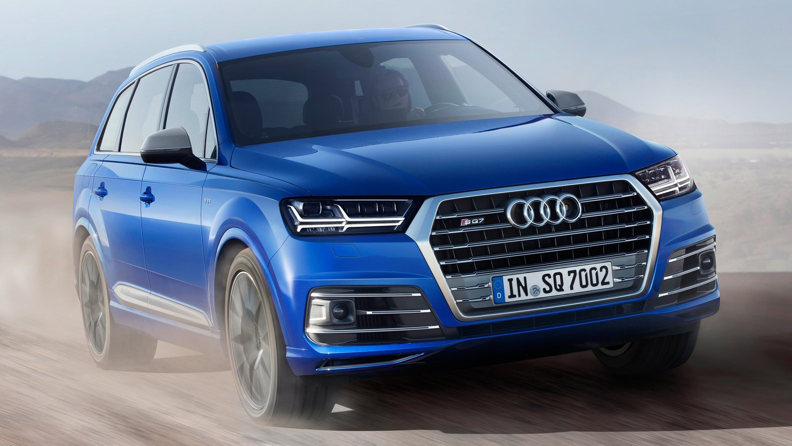 Want to drive your family at 150 mph? Check out the Audi SQ7