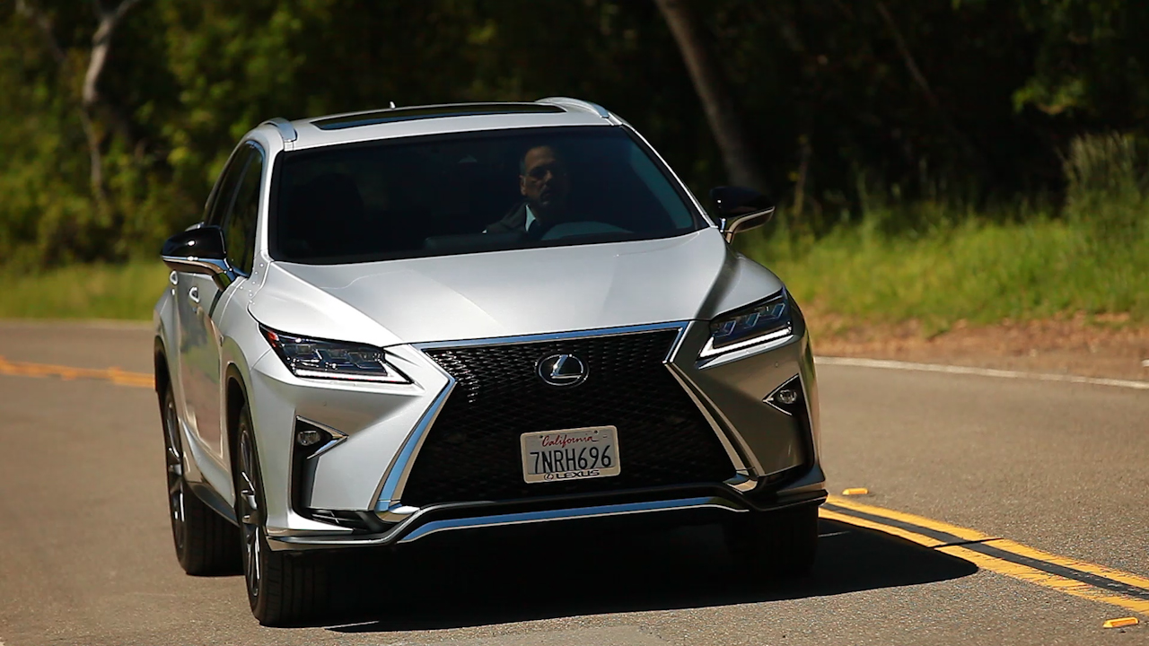 On the road: Lexus RX350 F Sport