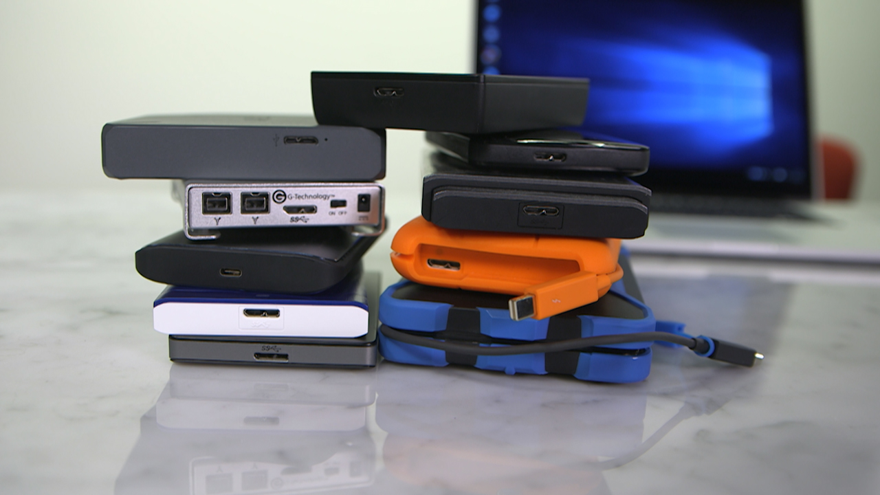 Choosing a portable drive that's right for you