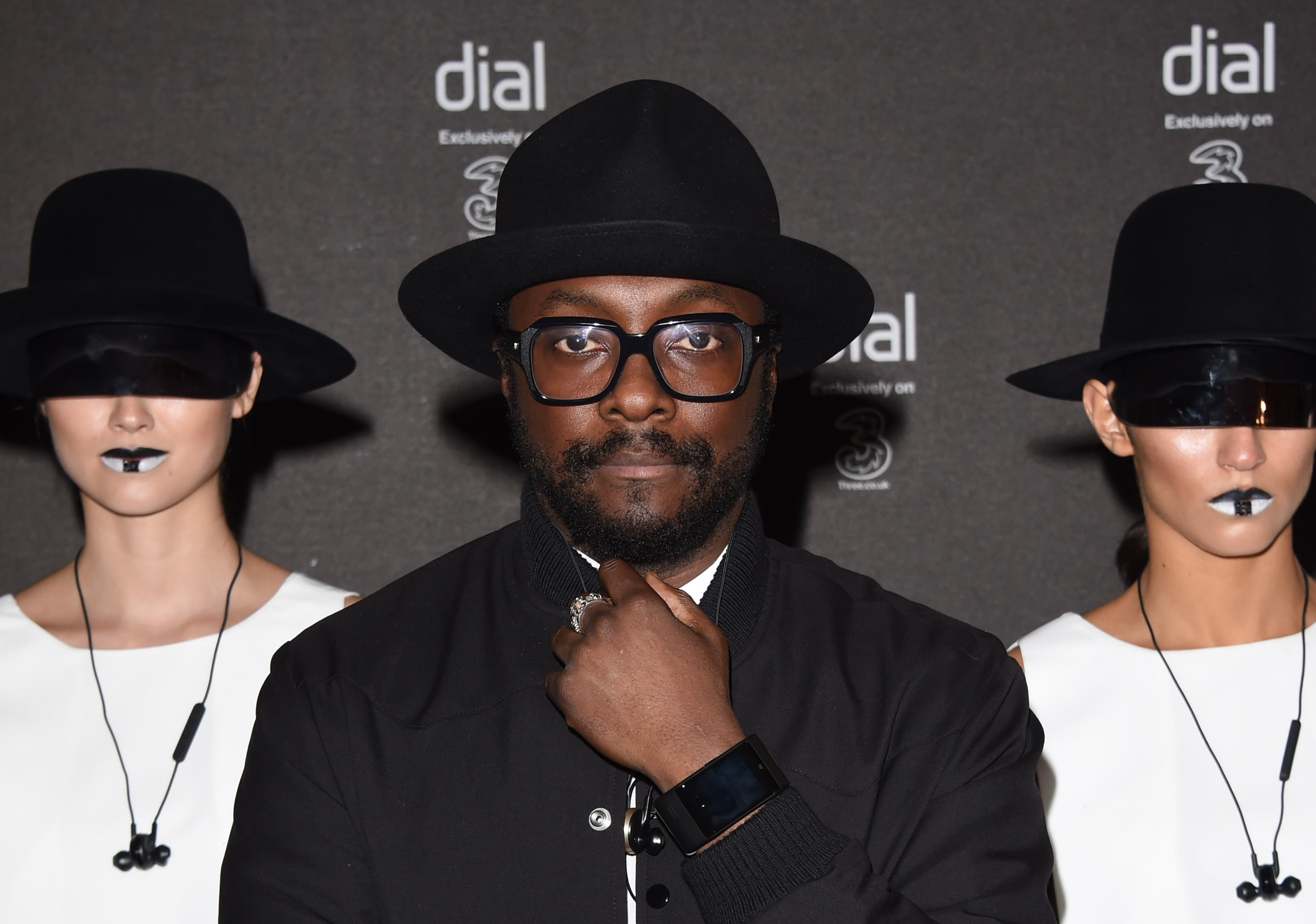 The launch of Will.i.am's new smartwatch was rid.ic.ulous