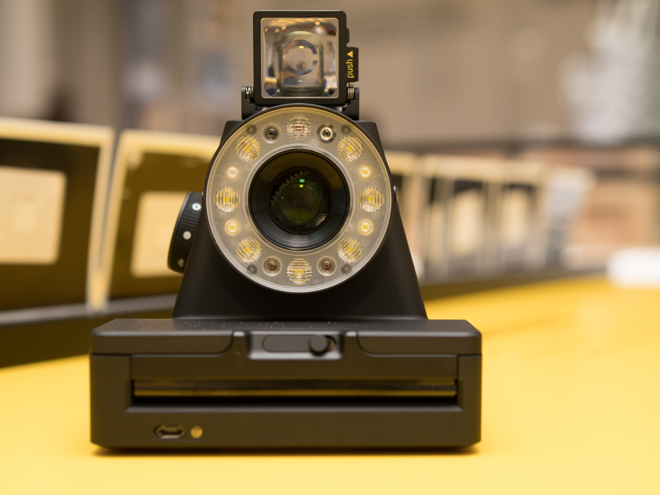 Impossible Project makes a modern Polaroid camera possible